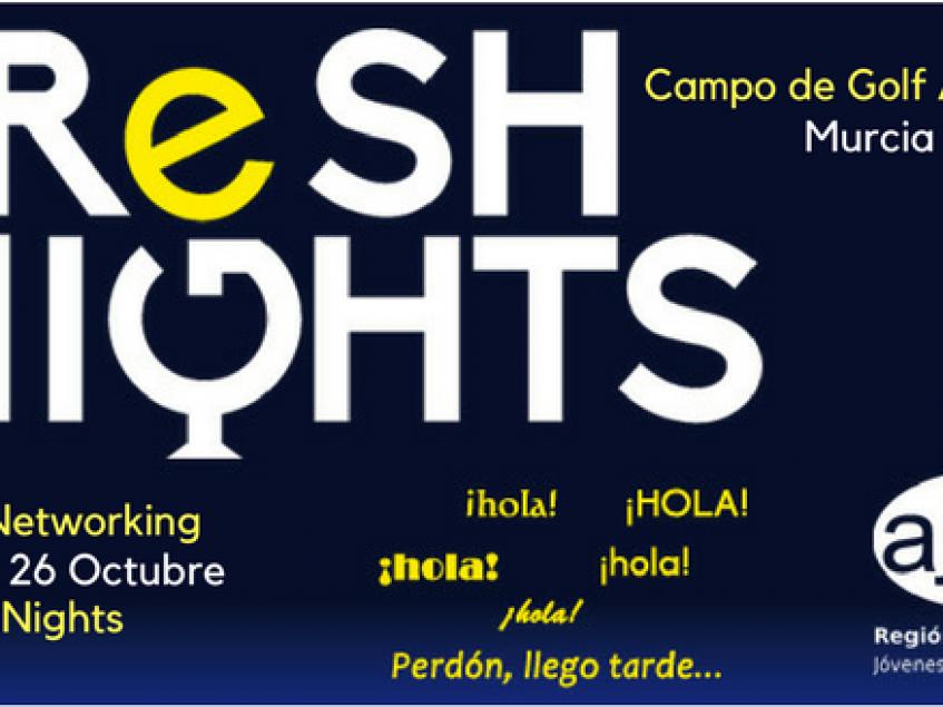FRESH NIGHTS CLUB DE GOLF ALTORREAL. 28 OCTUBRE