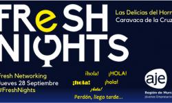 FRESH NIGHTS LAS DELICIAS DEL HORNO. 28 SEPTIEMBRE